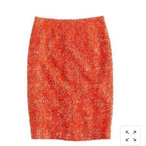 J. Crew Skirts - No. 2 pencil skirt in corkscrew tweed pink